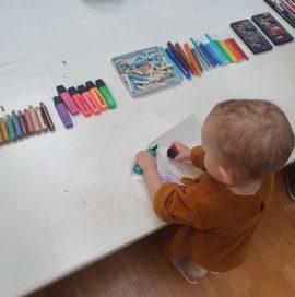 REGGIO CHILDREN APPROACH: Atelier trame grafico-narrative 1