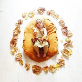 BABY FLOWER MANDALA – October