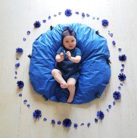 BABY FLOWER MANDALA – August
