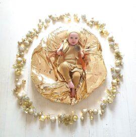 BABY FLOWER MANDALA – DECEMBER